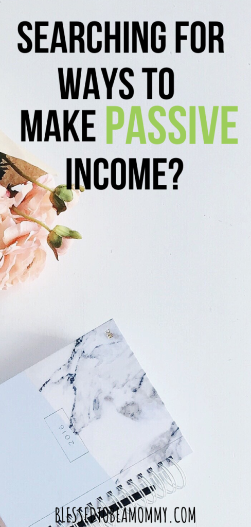 passive income, blessedtobeamommy